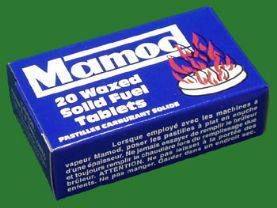 Mamod Solid Fuel Tablets, packet of 20.